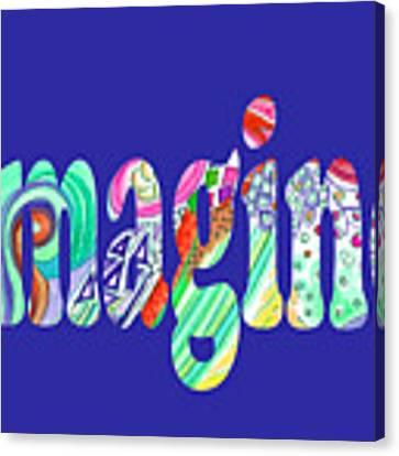 Imagine 1017 Canvas Print by Corinne Carroll
