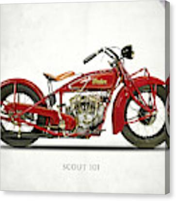 The Scout 101 1929 Canvas Print by Mark Rogan