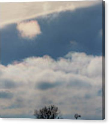 Iridescent Clouds 02 Canvas Print by Rob Graham