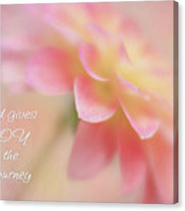 Joy For The Journey Canvas Print by Mary Jo Allen