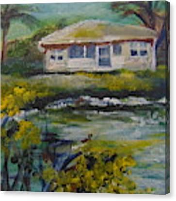 Lake Louise Canvas Print by Saundra Johnson