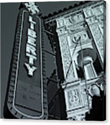 Liberty Theatre Canvas Print by Micki Findlay