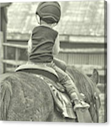 Little Guy Big Guy Canvas Print by Jamart Photography