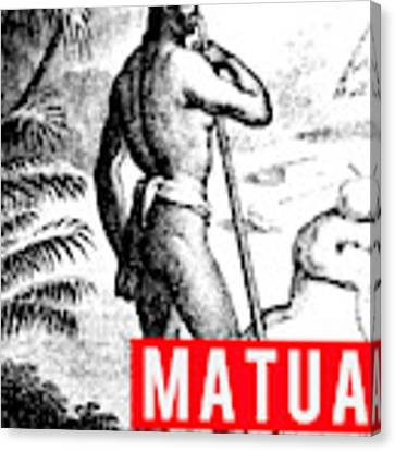 Matua Canvas Print by MB Dallocchio