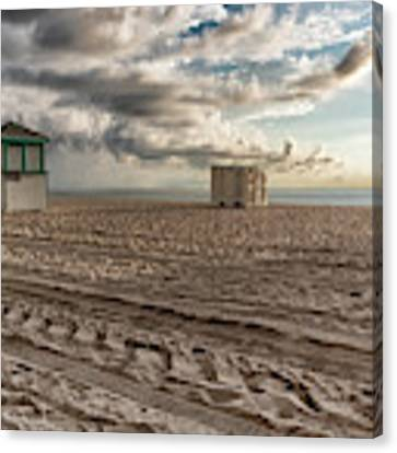 Morning In Miami Canvas Print by Alison Frank
