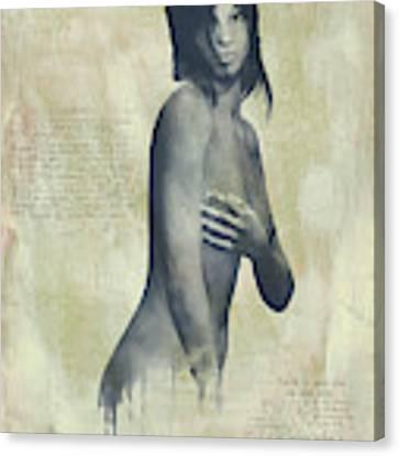 Naomi Canvas Print by Jan Keteleer
