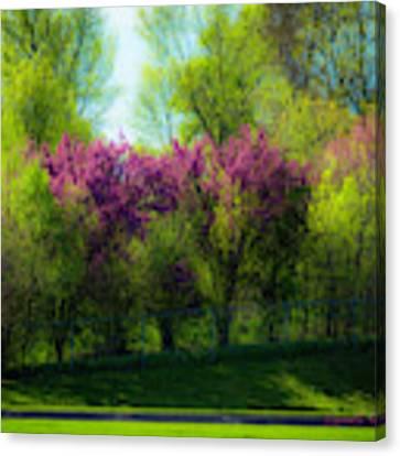 Nebraska Springtime Canvas Print by Edward Peterson