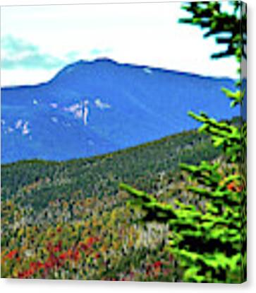 New Hampshire Highlands Canvas Print by Patti Whitten