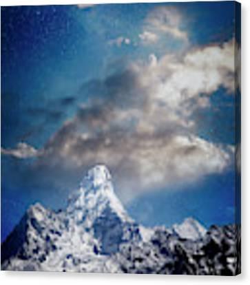 Nightfall Himalaya Canvas Print by Scott Kemper
