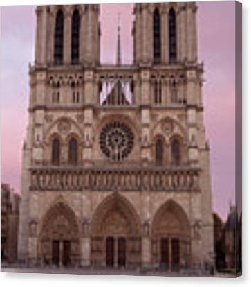 Notre Dame Cathedral Dawn Canvas Print by Jemmy Archer