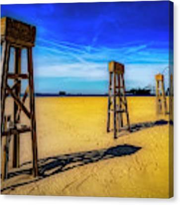 Ocean City Beach Canvas Print by Paul Wear