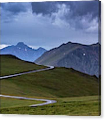 On Top Of The World Canvas Print by John De Bord
