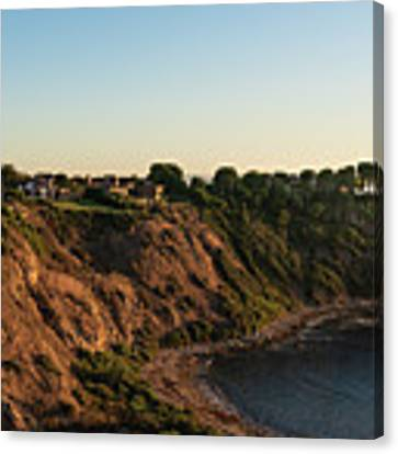 Palos Verdes Sundown Canvas Print by Michael Hope