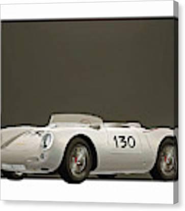 Porsche 550a Spyder 1956 Canvas Print by Jan Keteleer