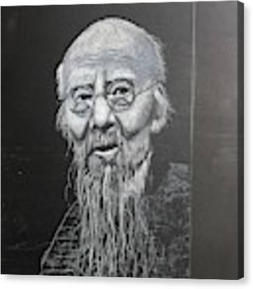 Qi Baishi Canvas Print by Richard Le Page