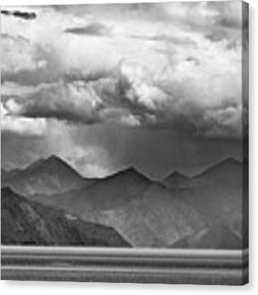 Rains In China Canvas Print by Whitney Goodey