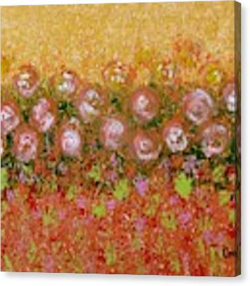 Roses Of Autumn Canvas Print by Corinne Carroll