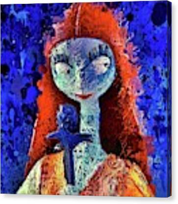 Sally  Canvas Print by Al Matra