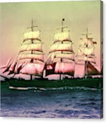 Sailing Ship Balclutha  Canvas Print by Robert G Kernodle