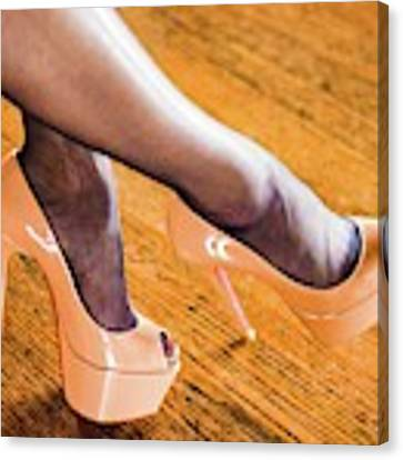 Shoes Canvas Print by Jim Lesher