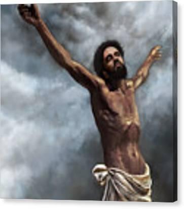 Son Of God Canvas Print by Dwayne Glapion