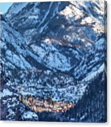 Spotlight On Ouray Canvas Print by Denise Bush