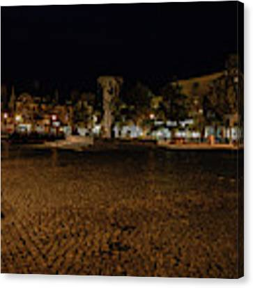 stora torget Enkoeping #i0 Canvas Print by Leif Sohlman