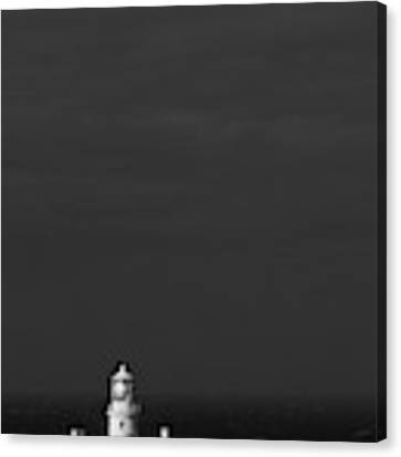 Strumble Head Lighthouse Canvas Print by Elliott Coleman