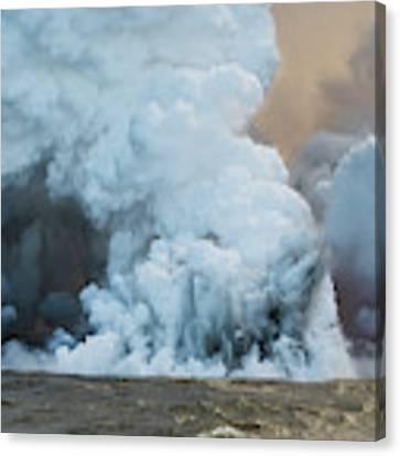 Submerged Lava Bomb Canvas Print by William Dickman