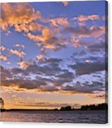 Sunrise Sky Canvas Print by Lisa Wooten