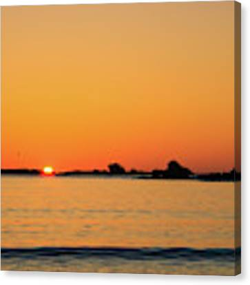 Sunset Over Sunset Bay, Oregon 4 Canvas Print by Dawn Richards