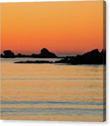 Sunset Over Sunset Bay, Oregon 5 Canvas Print by Dawn Richards