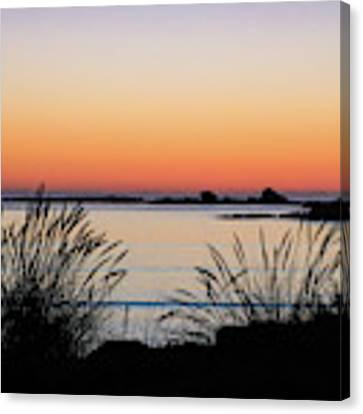 Sunset Over Sunset Bay, Oregon 6 Canvas Print by Dawn Richards