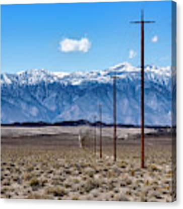 Telephone Survey Canvas Print by Jon Exley