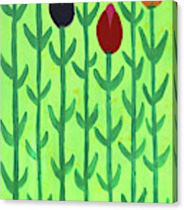 The First Sign Of Spring Canvas Print by Deborah Boyd