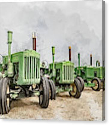 The John Deere Collection Canvas Print by Brad Allen Fine Art