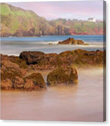 The Sea Fog Of St Cyrus - Scotland - Rock Hall Fishing Station Canvas Print by Jason Politte