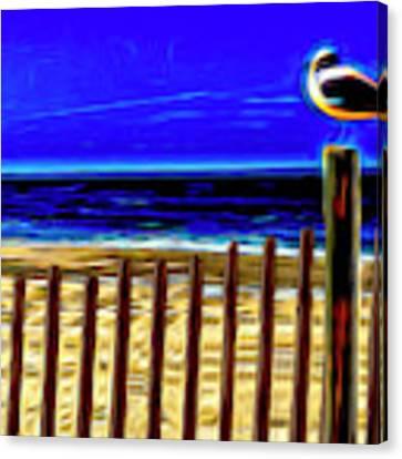 Watchin' The Tide Roll, Away Canvas Print by Paul Wear