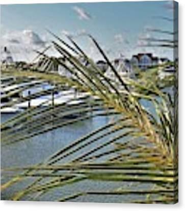 West Ocean City Marina Canvas Print by Kim Bemis