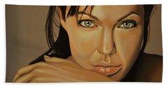 Angelina Jolie 2 Bath Towel