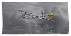 B24 Liberator  446th Bomb Group Bath Towel