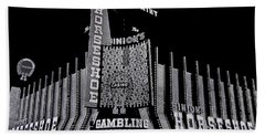Binion's Horseshoe Casino Exterior Casino Center Las Vegas Nevada 1979-2014 Hand Towel