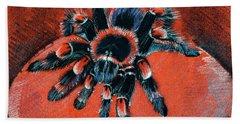 Brachypelma Smithi Redknee Tarantula  Hand Towel