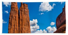 Canyon De Chelly Spider Rock Bath Towel