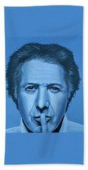 Dustin Hoffman Painting Bath Towel