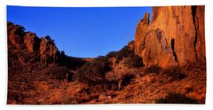 Early Morning On The Chihuahuan Desert Hand Towel