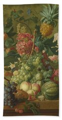 Fruit And Flowers  Hand Towel