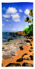 Laniakea Beach Hand Towel by Kelly Wade