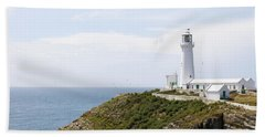 Lighthouse Landscape Hand Towel