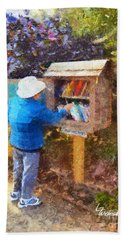 Alameda  Little Free Library Hand Towel